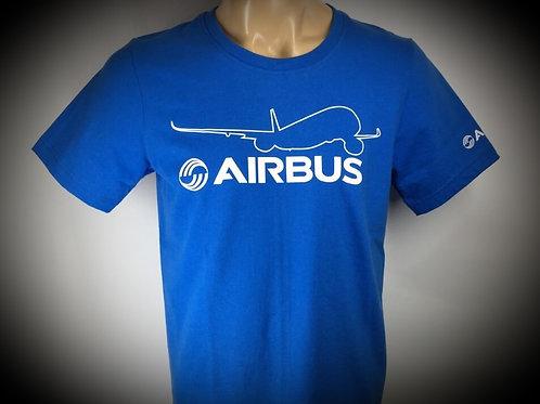 AIRBUS A350 BLUE TEE SHIRT