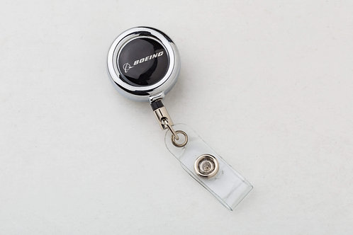 CLIP-ON BADGE BOEING