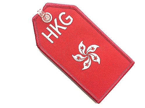 BAGTAG HONG KONG FLAG