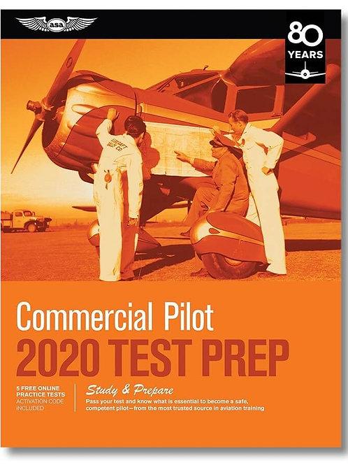 TEST PREP COMMERCIAL PILOT 2020