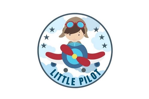 LITTLE PILOT (BOY) STICKER