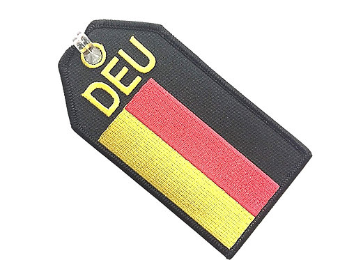 FLAG GERMANY BAGTAG