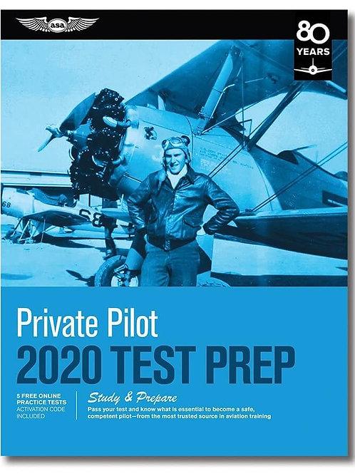 TEST PREP PRIVATE PILOT 2020