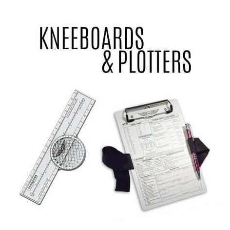 Pilot Kneeboard and plotters