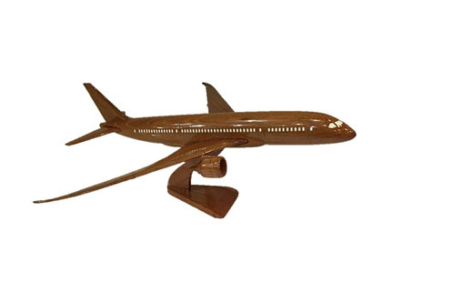 WOODEN MODEL BOEING 787 (SMALL)