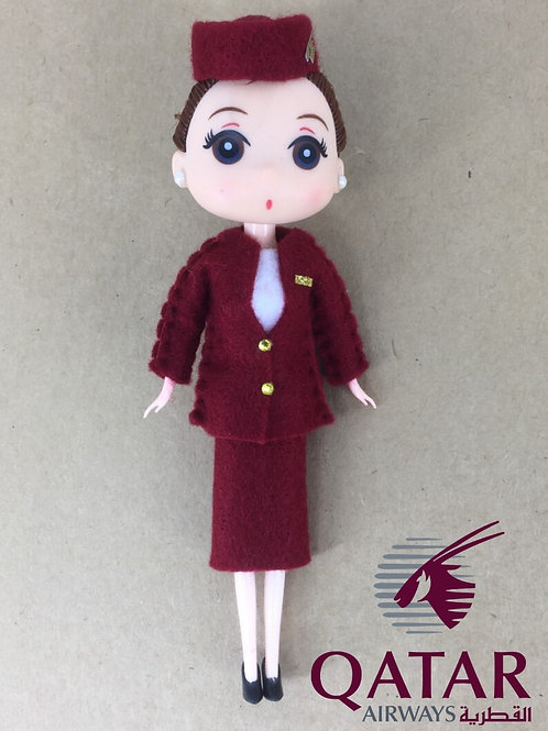 QATAR AIRWAYS DOLL
