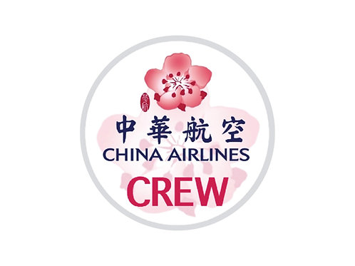 CHINA AIRLINES CREW STICKER