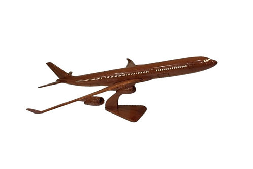 WOODEN MODEL AIRBUS A340 (BIG)
