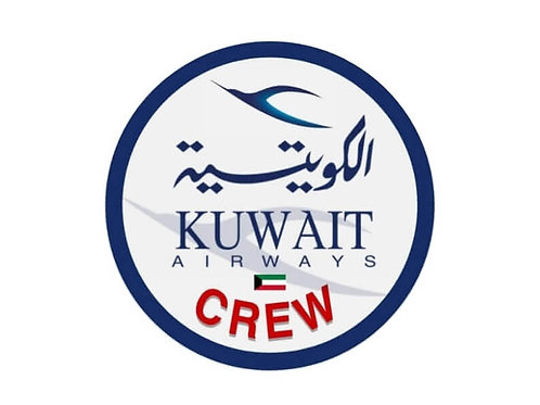 KUWAIT AIRWAYS CREW STICKER