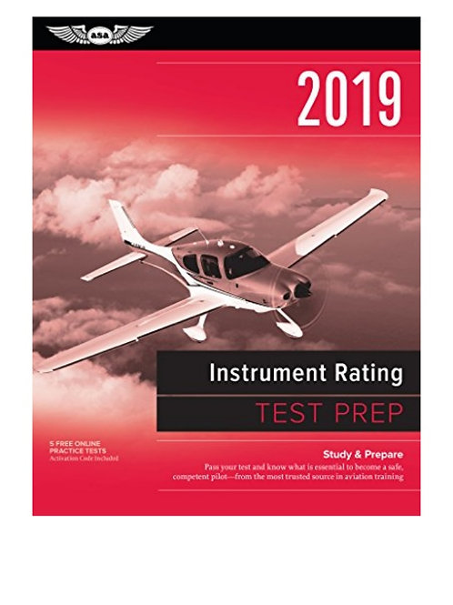 TEST PREP INSTRUMENT RATING