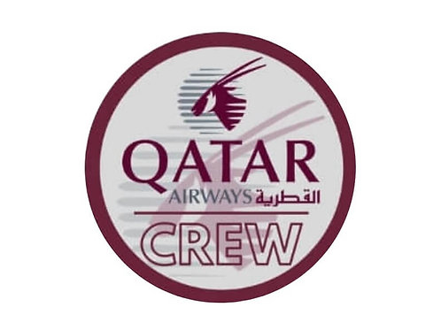 QATAR AIRWAYS CREW STICKER