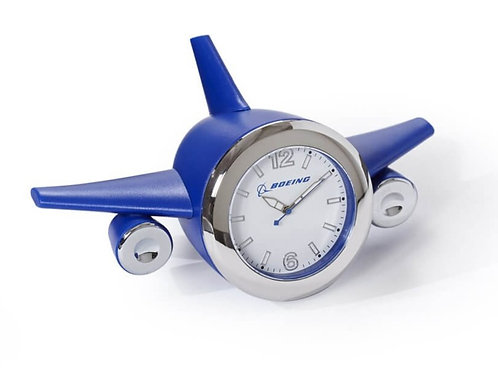 BOEING PLANE DESK CLOCK