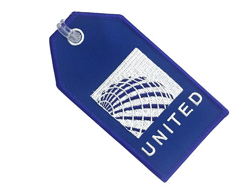 UNITED AIRLINES BAGGAGE TAG