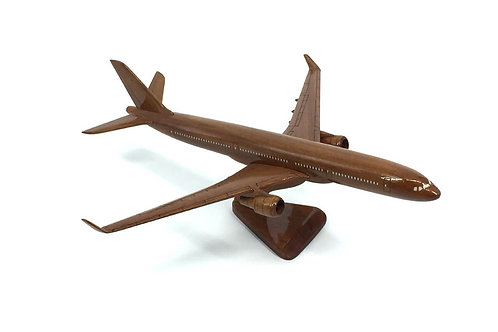 A330 WOODEN MODEL (SMALL)