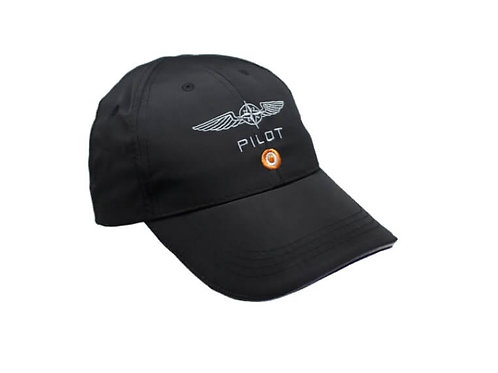 DESIGN4PILOTS CAP - BLACK