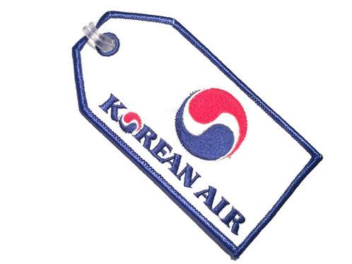 KOREAN AIR BAGGAGE TAG