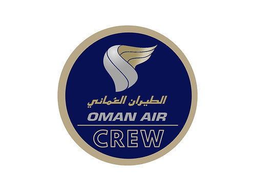 OMAN AIR CREW STICKER