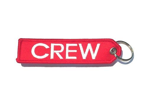 KEYRING CREW RED
