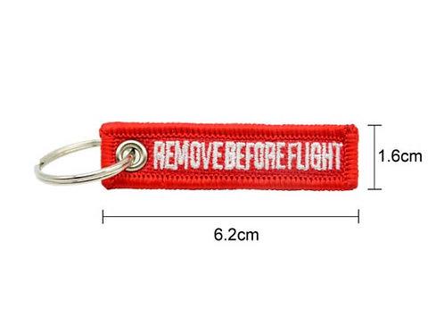 MINI KEYRING REMOVE BEFORE FLIGHT