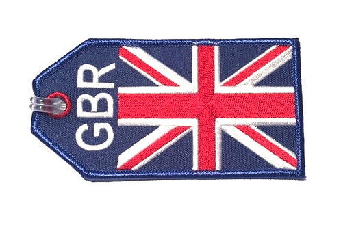 BAGTAG UK FLAG