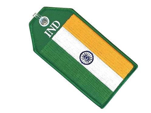 FLAG INDIA BAGTAG