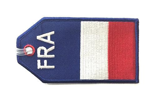 BAGTAG FRANCE FLAG