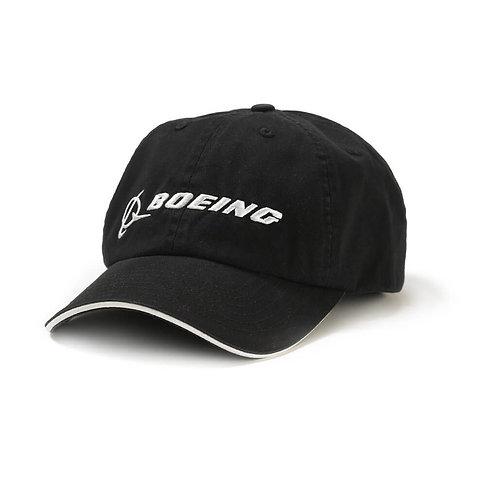 CAP BOEING SIGNATURE - BLACK