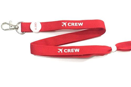 LANYARD CREW RED