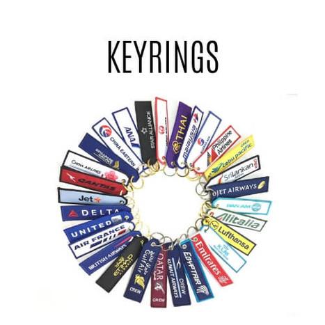 Aviation Keyrings