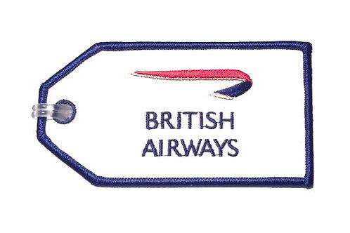 BRITISH AIRWAYS BAGGAGE TAG