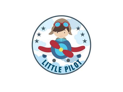 KIDS LITTLE PILOT STICKER