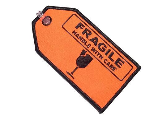 FRAGILE BAGGAGE TAG