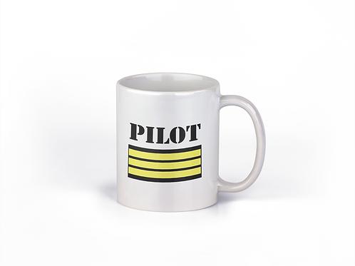 MUG PILOT 3 STRIPES