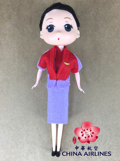 CHINA AIRLINES CREW DOLL