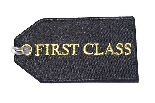 FIRST CLASS BAGGAGE TAG