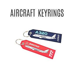 AIRCRAFT KEYRINGS