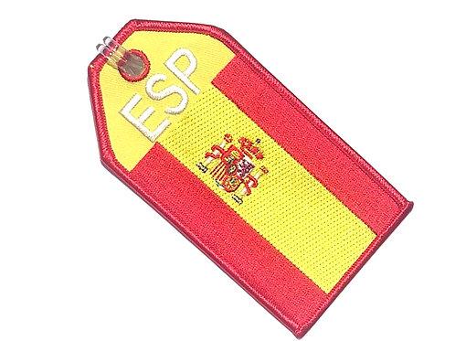 BAGTAG SPAIN FLAG