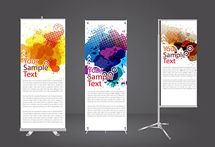 banners posters