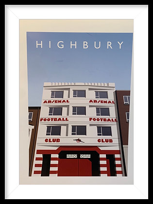West stand Print