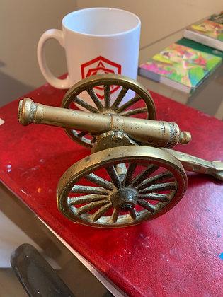 Solid Brass prewar canon
