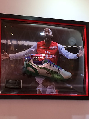 Signed Henry Boot in 3D Frame