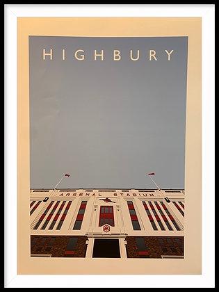 Highbury print