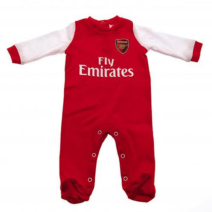 Arsenal F.C. Sleepsuit 0/3 mths Red & White