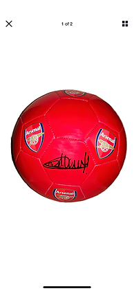 Henry signed ball