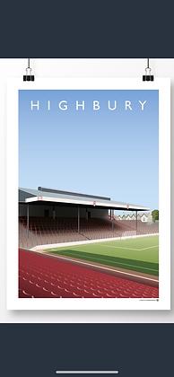 Highbury  north bank