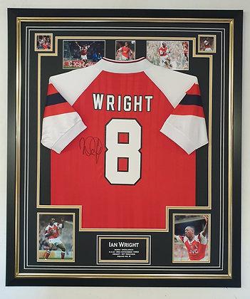 Ian Wright Signed Shirt