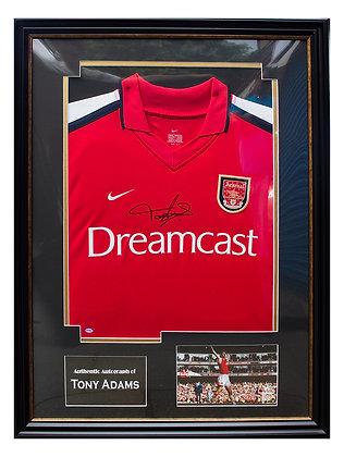Tony Adams - Signed & Framed shirt