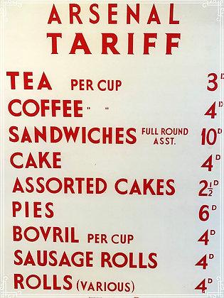 Arsenal tariff