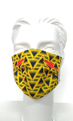 Bruised banana Canon Face mask