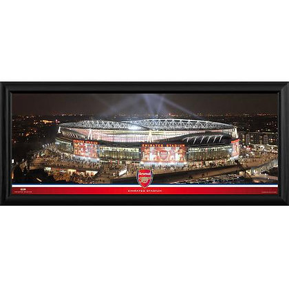 Arsenal F.C. Framed Panoramic Print Emirates